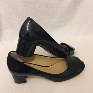 Michael Kors Navy Patent Leather Heels NWOT